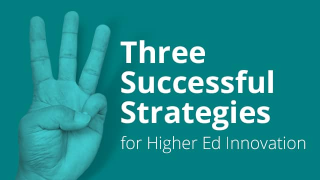 Three Successful Strategies
