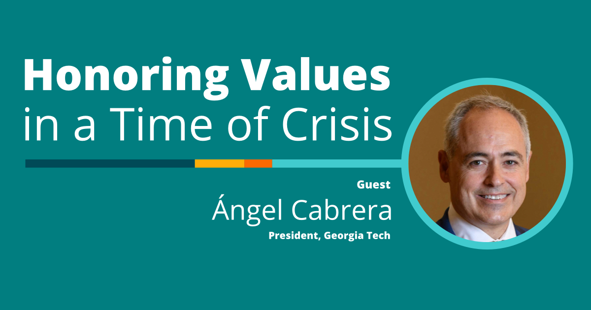 Angel Cabrera, The Innovating Together Podcast