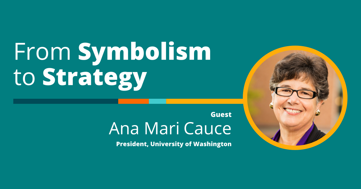 Ana Mari Cauce, The Innovating Together Podcast