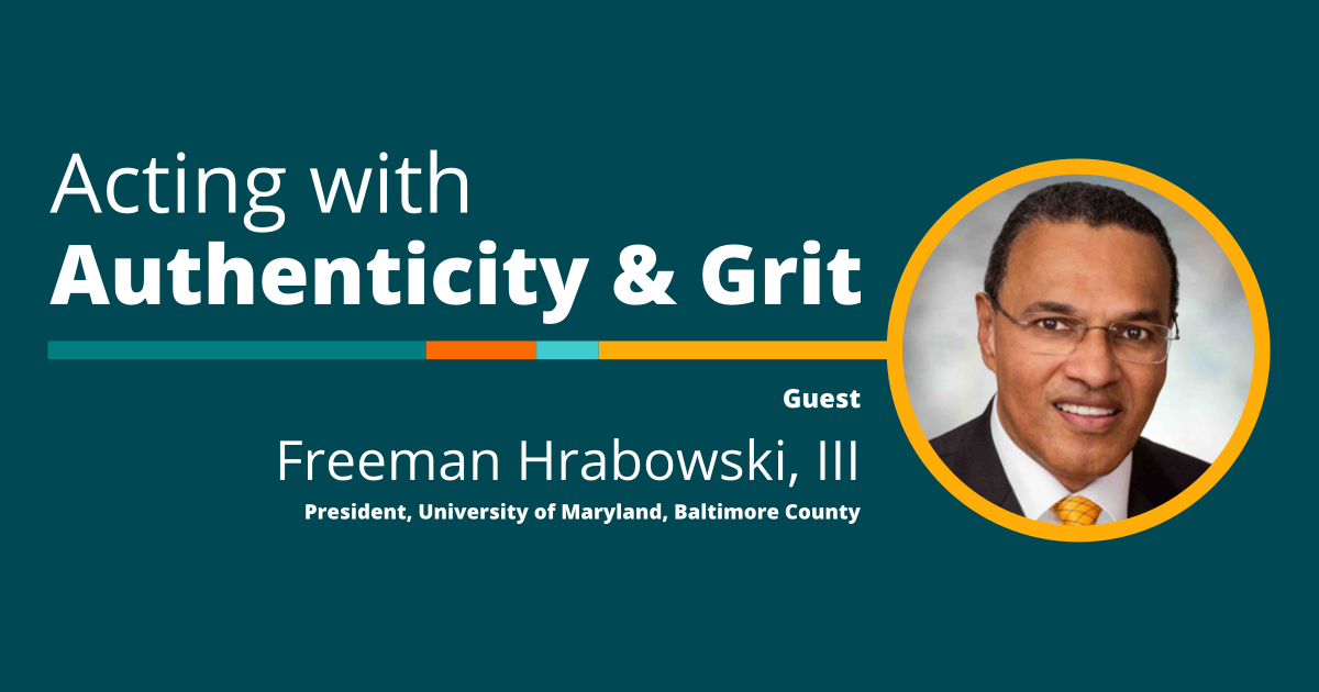 Freeman Hrabowski, The Innovating Together Podcast
