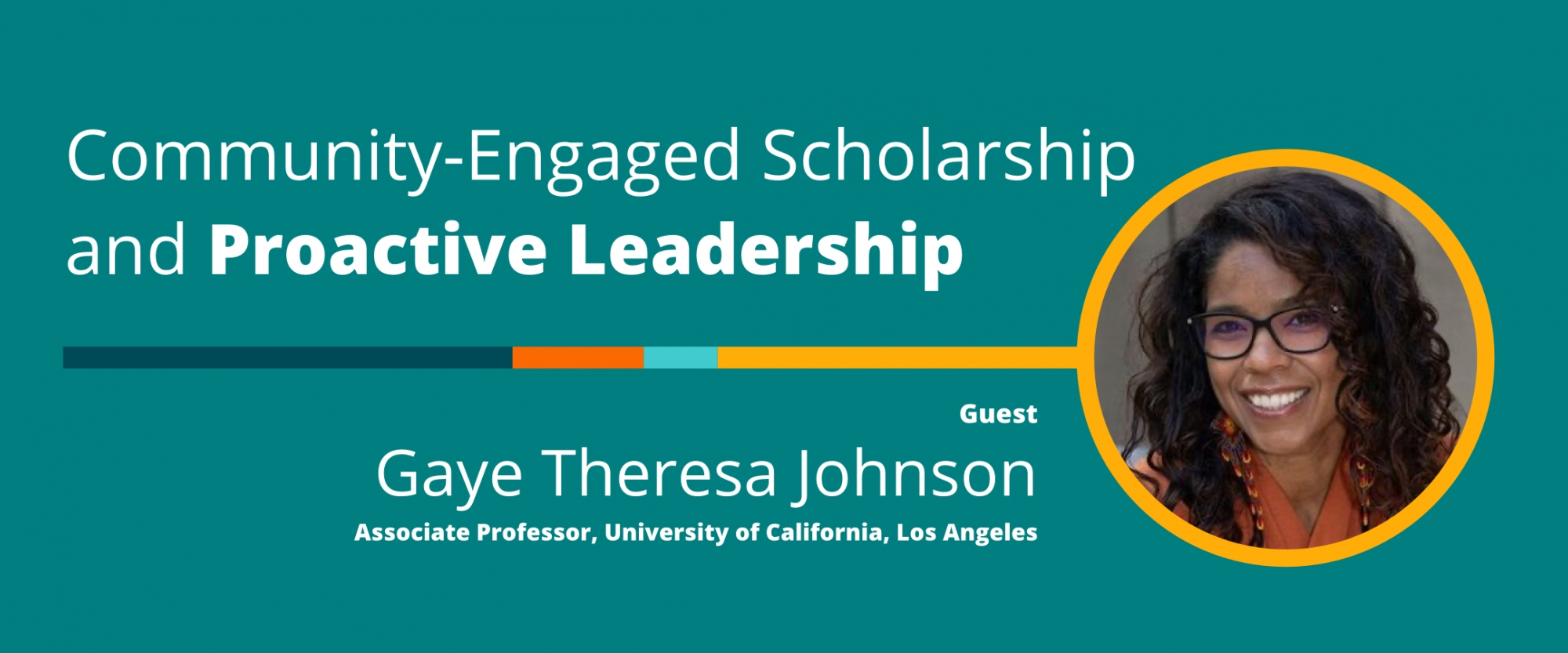 Community-Engaged Scholarship and Proactive Leadership