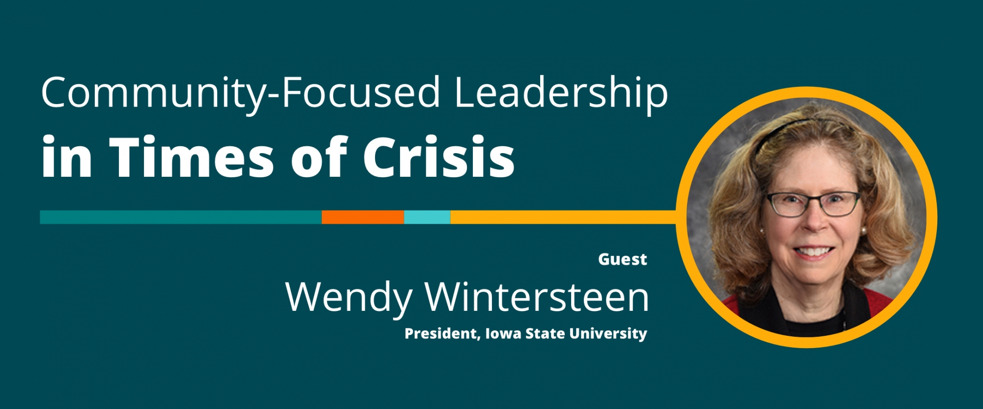 Community-Focused Leadership in Times of Crisis